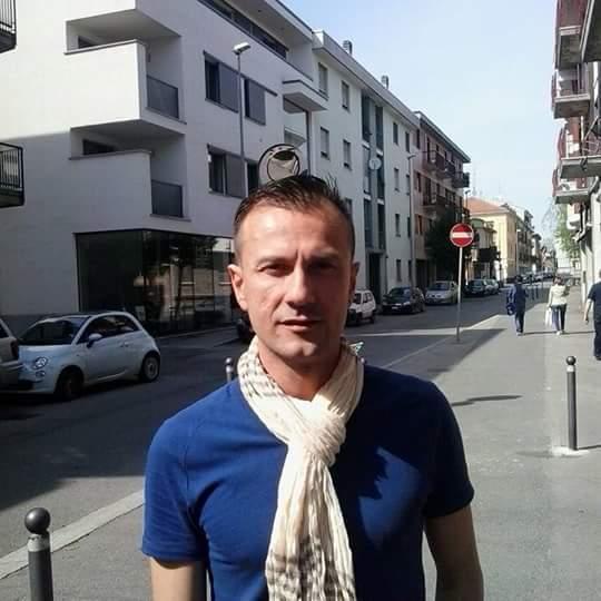 Daniele Silva. Agente della provincia di Novara.