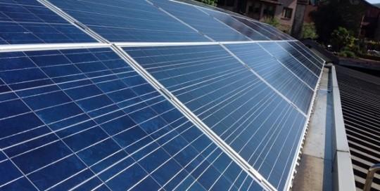 Fotovoltaico manutenzione, pulizia. Sostegno, Biella.