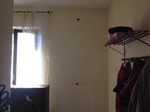 Isolamento casa. Insufflaggio muri perimetrali. Casale Monferrato, Alessandria.