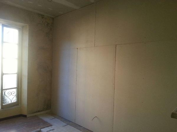 Isolamento casa. Contro-soffitto. Ovada, Alessandria.