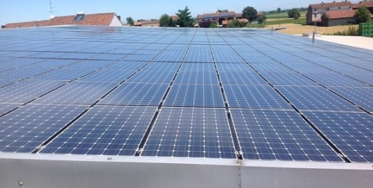 Fotovoltaico manutenzione, pulizia. Borgo San Martino, Alessandria.