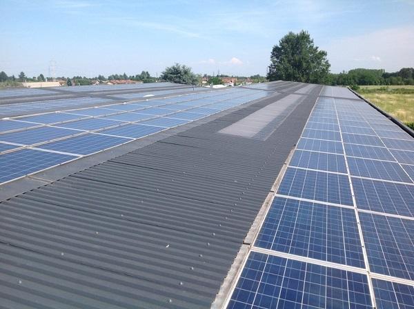 Fotovoltaico manutenzione 94KWp – Turbigo (MI)