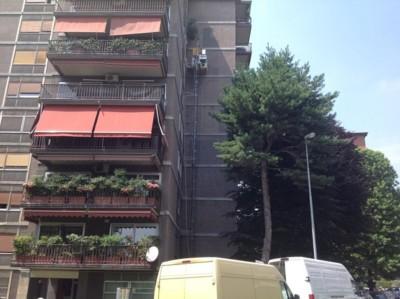 Isolamento casa. Insufflaggio muri perimetrali. Pavia.