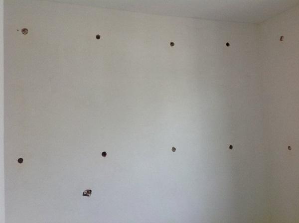 Isolamento casa. Insufflaggio muri. Genova (GE)