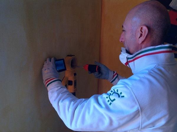 Isolamento casa. Insufflaggio muri. Spinetta Marengo - Alessandria (AL)