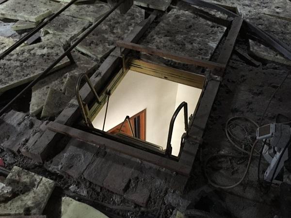 Isolamento casa. Insufflaggio sotto-tetto. Carezzano (AL)