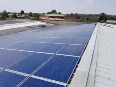 Fotovoltaico manutenzione, pulizia. Castelnuovo Scrivia, Alessandria.