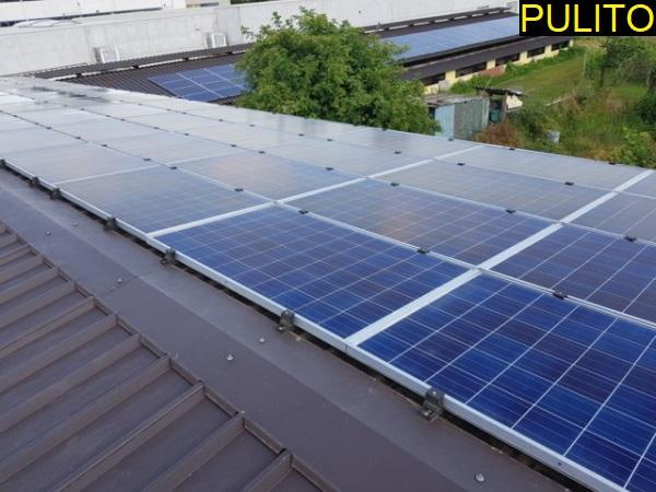 Fotovoltaico manutenzione, pulizia. Ozzero, Milano.