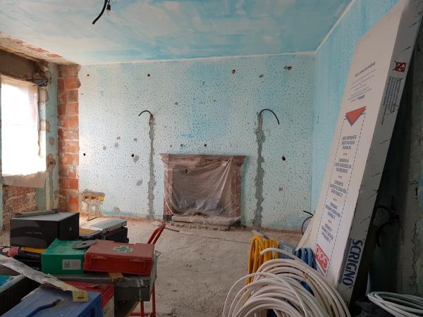 Isolamento casa. Insufflaggio muri. Casale Monferrato (AL)