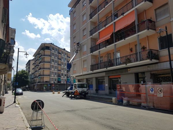 Isolamento condominio. Insufflaggio muri. Acqui Terme (AL)